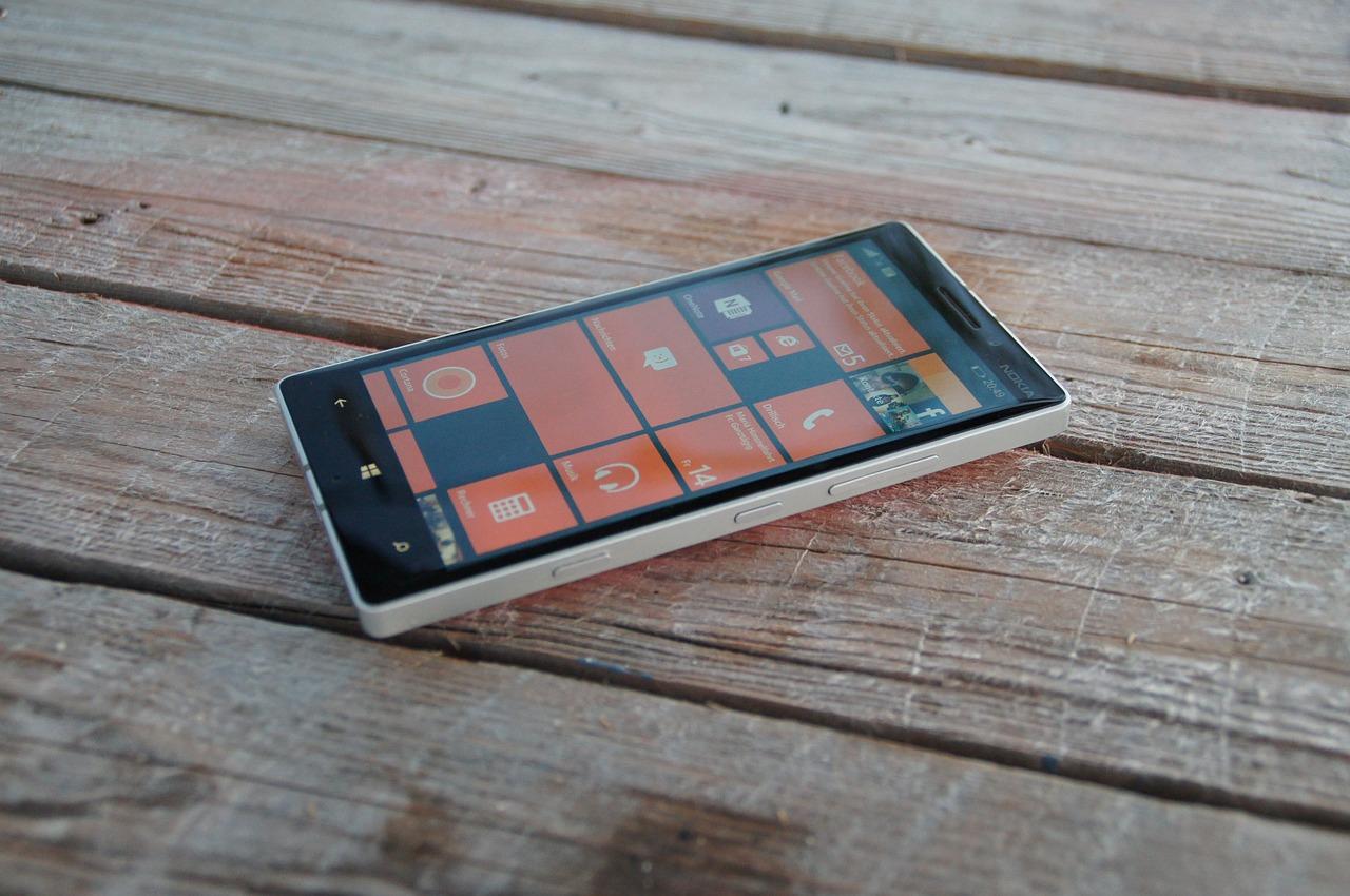 blick bildschirm windows mobile 10