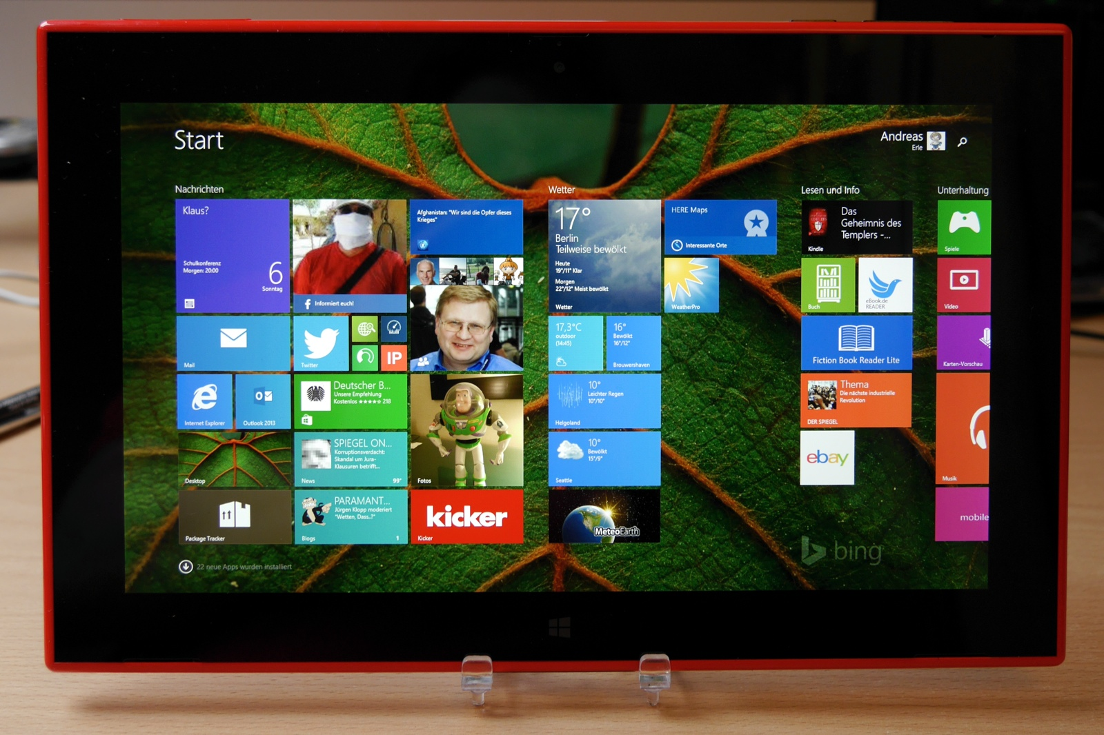 android auf windows tablet installieren deutsch
