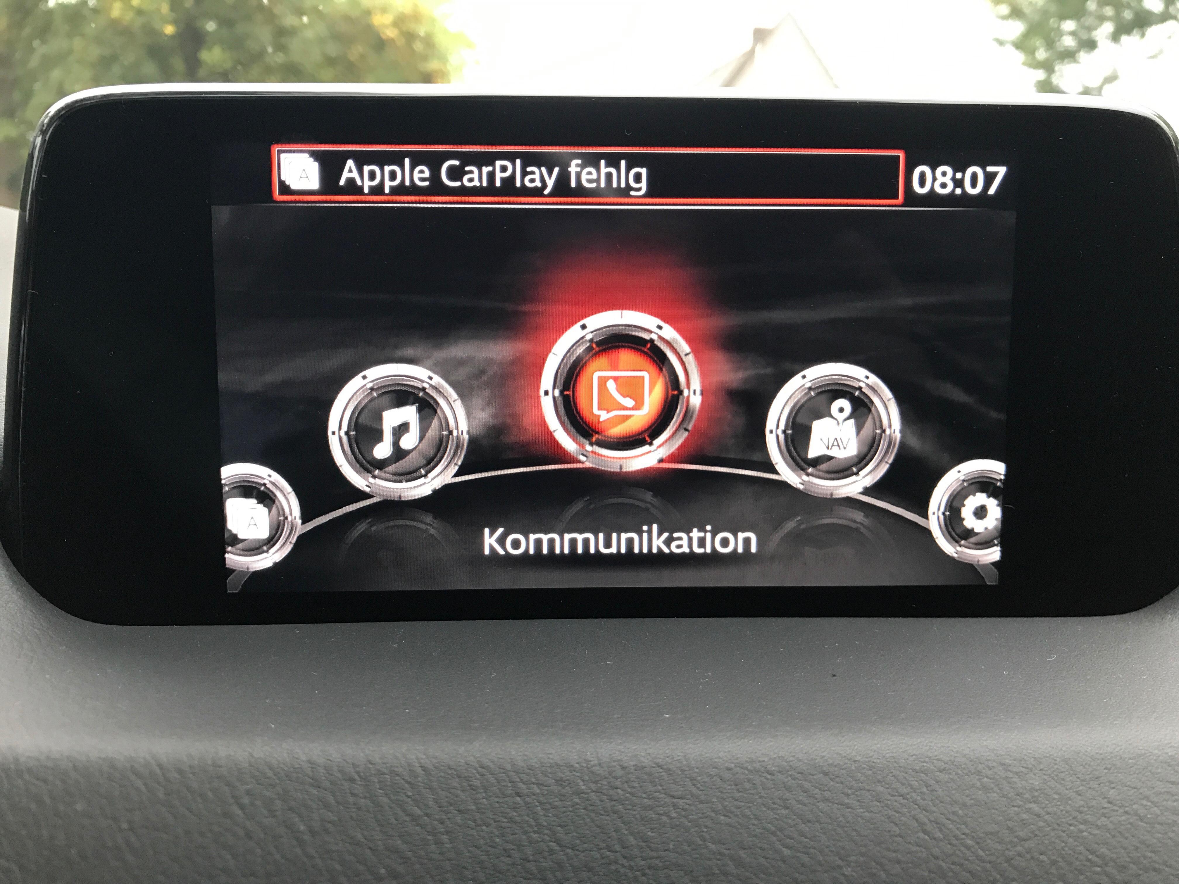tipp apple carplay f r mazdas mzd connect test t cken. Black Bedroom Furniture Sets. Home Design Ideas